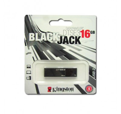 Memoria 16 gb Kingston Mod ES3 (en color negro y/o diferentes colores)