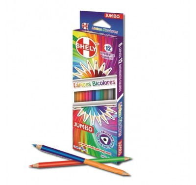 Colores Shely jumbo triangular doble color 6/12
